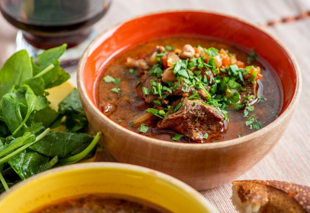Don't have an Instant Pot? You can still prepare Mediterranean Lamb Stew in a slow cooker.