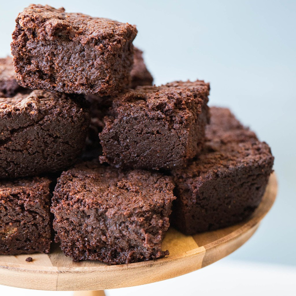 One-Pot Mexican Hot Chocolate Brownies.