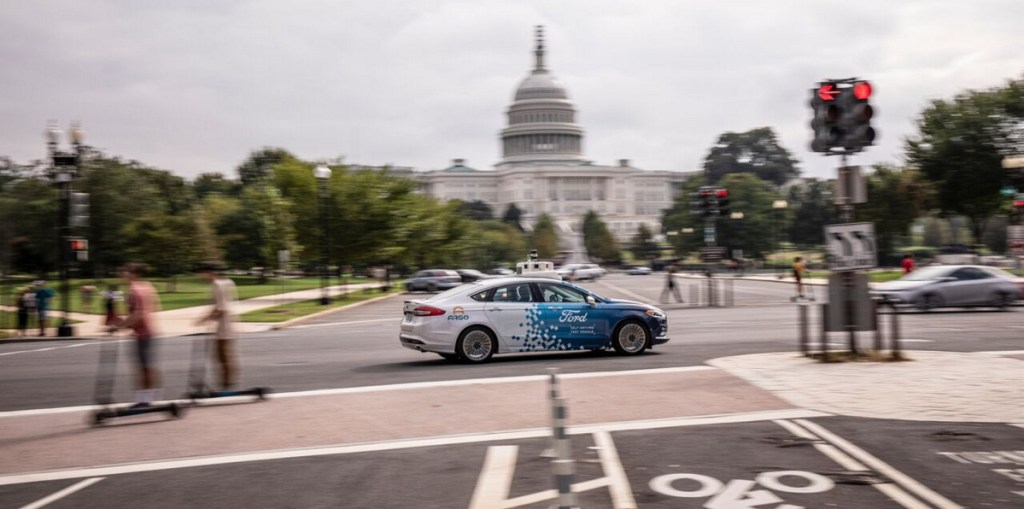 Ford will become the first company to test autonomous vehicles in Washington, D.C., by establishing a self-driving vehicle business.