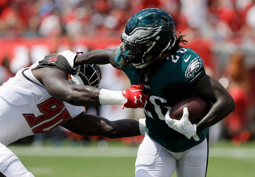 Philadelphia Eagles running back Jay Ajayi reportedly will miss the rest of the regular season with a torn ACL.