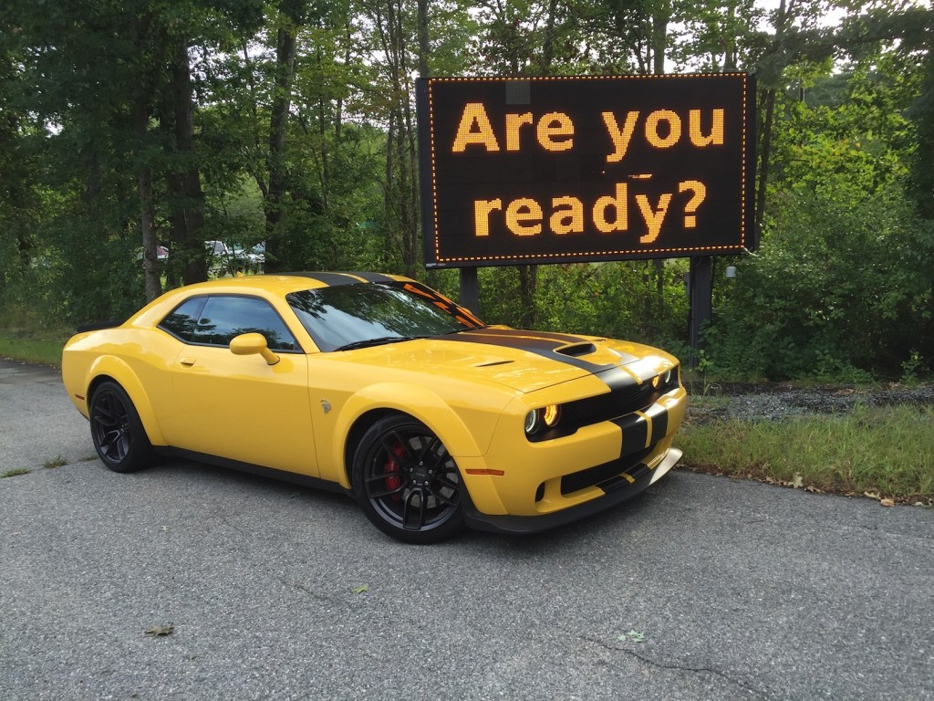 On the Road Review: Dodge Challenger SRT/Hellcat