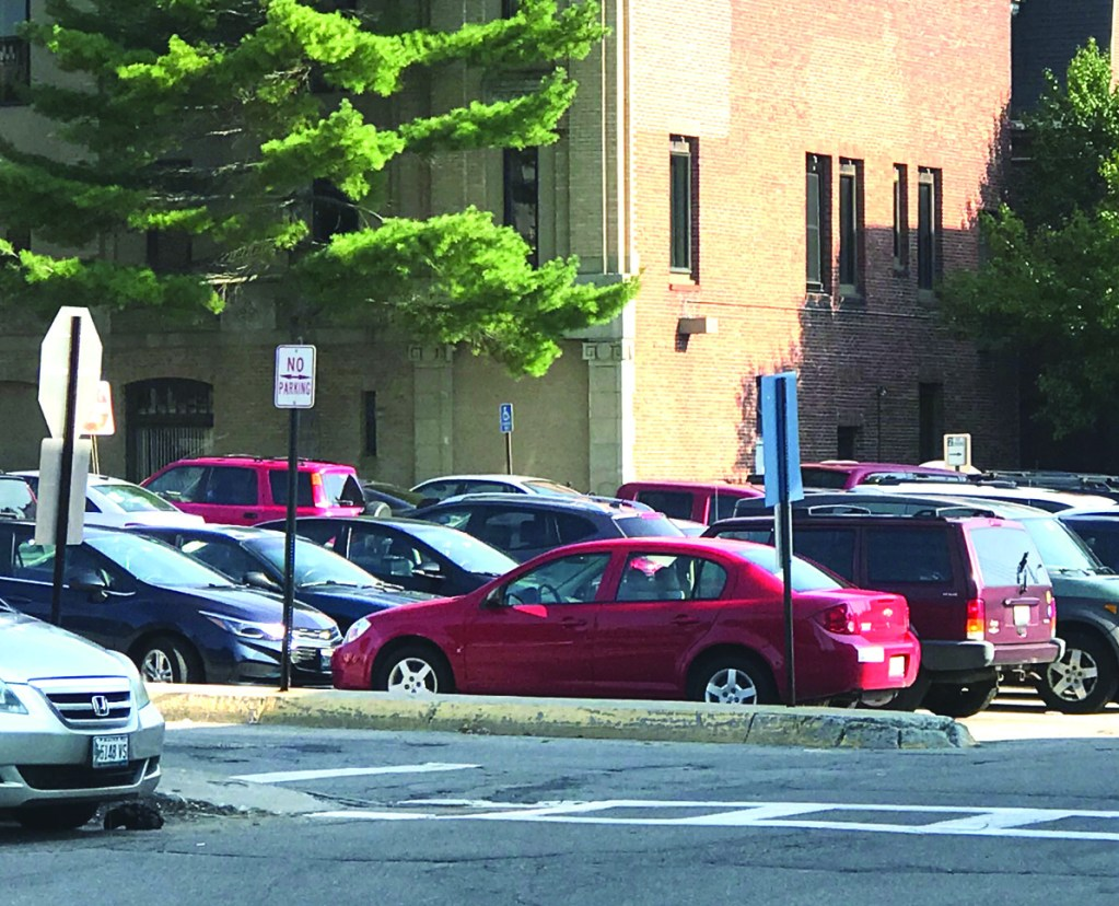 A complaint has been filed against the city of Biddeford to stop a parking  plan that would charge for parking in the downtown in city-owned parking lots.
