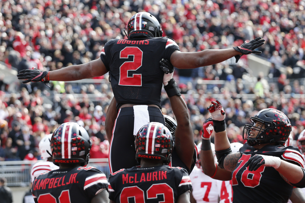 Saturday's college football: Ohio State holds off Nebraska