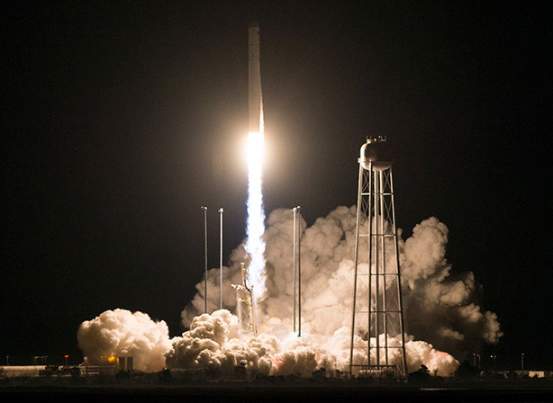 The Cygnus spacecraft launches on an Antares rocket at 4:01 a.m. Saturday from NASA's Wallops Flight Facility in Virginia. The resupply mission will deliver about 7,400 pounds of science and research, crew supplies and vehicle hardware to the International Space Station and its crew.