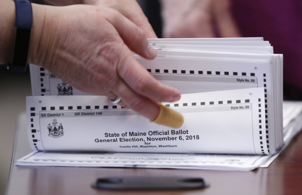 Ballots are prepared for tabulation in the 2nd District U.S. House election Nov. 12. Determining the winner of a ranked-choice race is not opaque, a letter writer says.