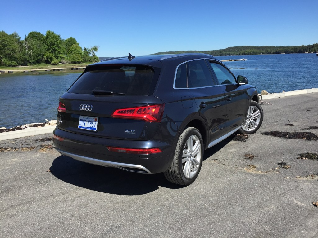 Many buyers are choosing the premium five-passenger wagon over sedans. (Photo by Tim Plouff. Location: Near Deer Isle Bridge, Eggemoggin Reach.)