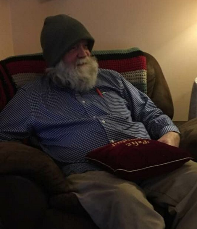 William Bloom, the owner of the house at 46 Main St. in North Anson, perished in a fire Thursday. A neighbor of Bloom said he was a reader who surrounded himself with books.