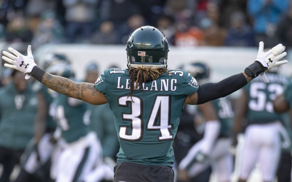 Philadelphia cornerback Cre'von LeBlanc joined the team when injuries devastated the secondary and he has become more comfortable as the weeks have gone by.