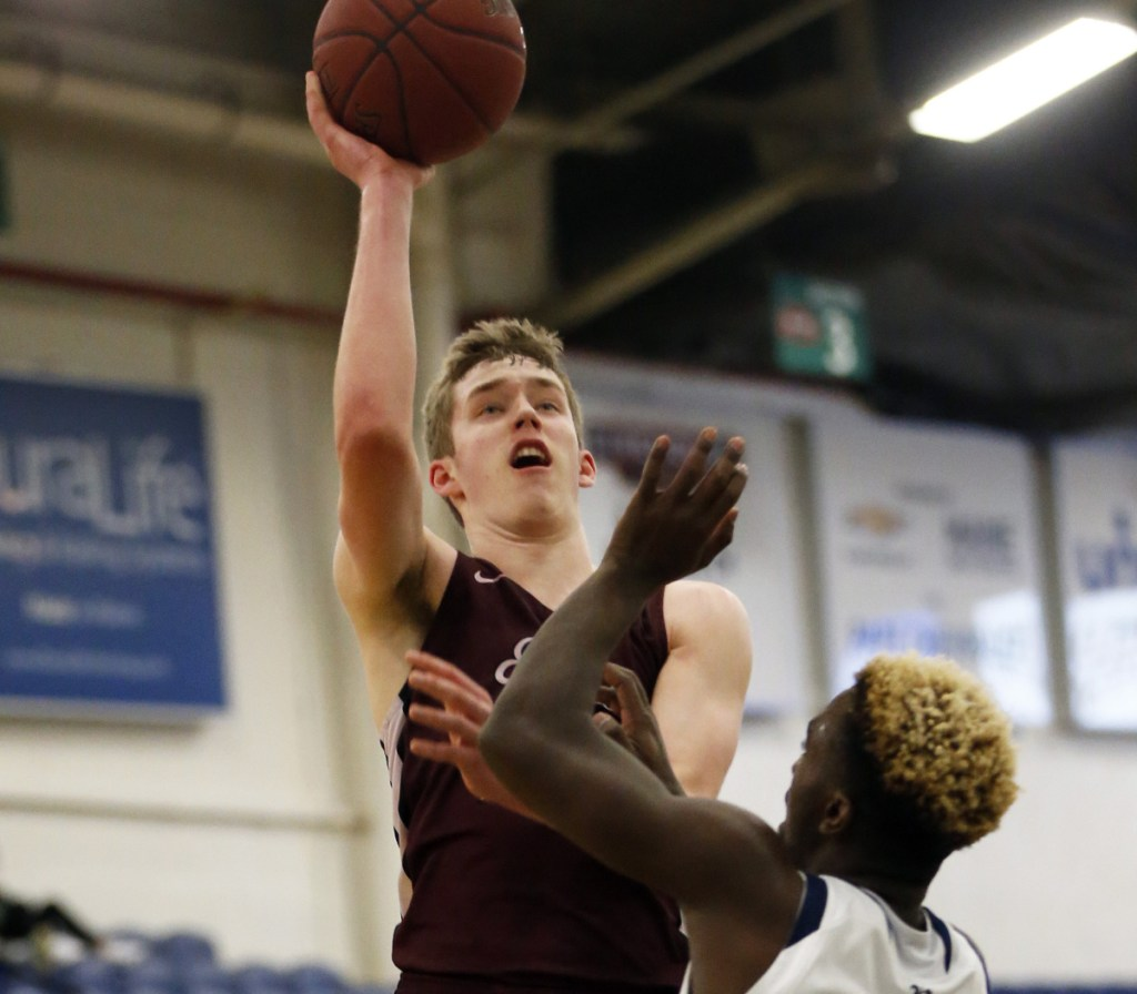 Max Creaser and Edward Little are the defending Class AA state champions, and have the talent to do it again. But the Eddies also could lose an early-round playoff game. It's just that type of basketball season.
