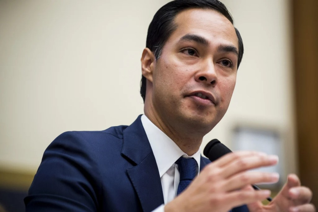 Julián Castro is the former mayor of San Antonio and he worked in the Obama administration.