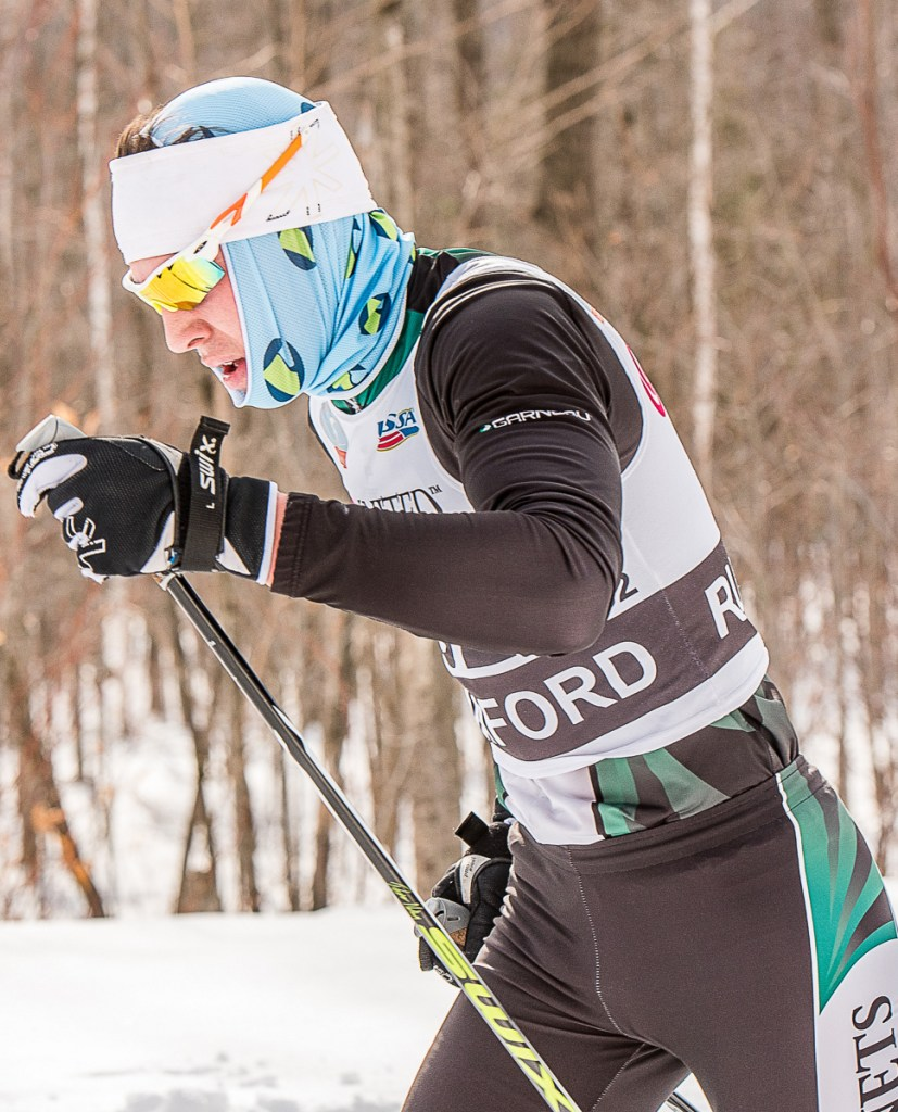 Roy Varney of Leavitt High was more than 13 seconds faster than the closest skier Saturday in Rumford.