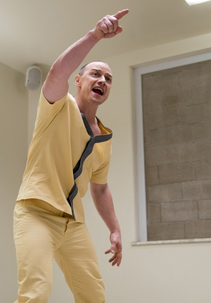 """Image released by Universal Pictures shows James McAvoy in a scene from M. Night Shyamalan's """"Glass."""""""
