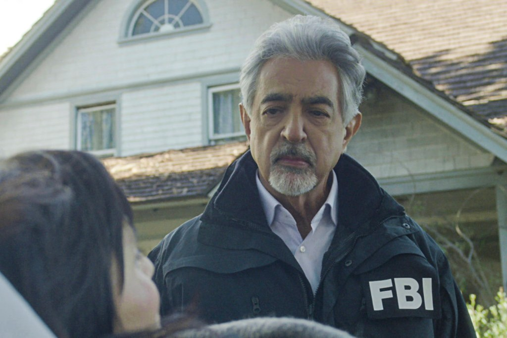 "Actor Joe Mantegna as David Rossi in Criminal Minds' ""Sick and Evil"" episode airing next week and set in Lewiston."