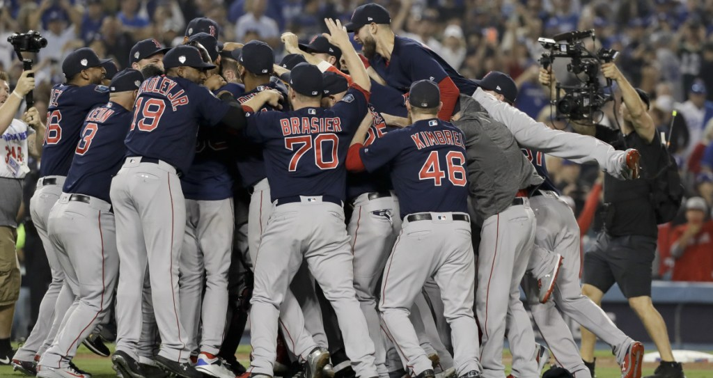The Boston Red Sox celebrated a championship last year, and think they can to do it again with essentially the same personnel.