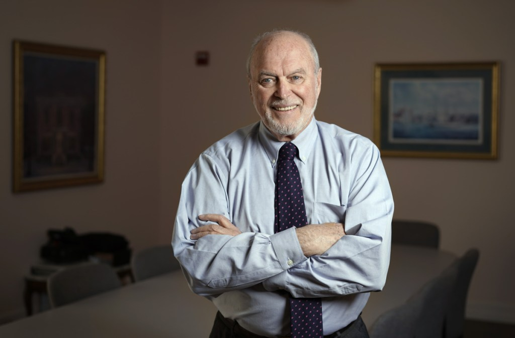 """Jim Ward, president of Patient Advocates, a Gray company that manages self-insured employee health care plans in Maine, says the notion of cheaper care in Boston is counterintuitive but true. """"There are six or seven major medical centers that all compete with each other on price, for patients, for specialists, and so on."""""""