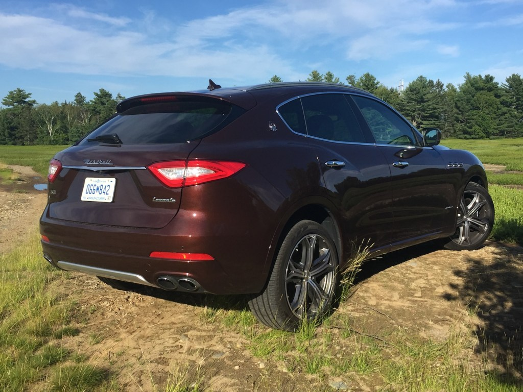 Pricing on the Levante starts at $75,980. The GranLusso starts at $91,980 but extras on the vehicle tested brought the sticker to $103,285. Photo by Tim Plouff. Location: Cumberland.