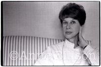 Anita Brookner, writer. London, 1984.
