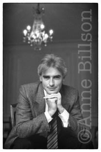 Alexander Kaletski, writer & artist. London, 1985.
