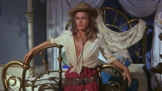 """Decoration: Ursula Andress as """"Maxine Richter"""" in 4 for Texas (1963)"""