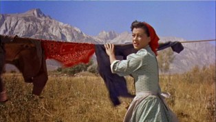 """Gail Russell as """"Annie Greer"""" in Seven Men from Now (1956)"""