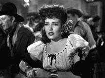 """Bad girl: Linda Darnell as """"Chihuahua"""" in My Darling Clementine (1946)"""