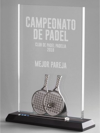 1320-Cristal-Economico-Trofeo-Placa-Reconocimiento-Homenaje
