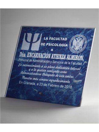 1342-Cristal-Economico-Trofeo-Placa-Reconocimiento-Homenaje