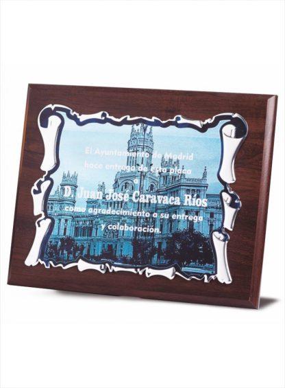 1719-Placa-Economico-Trofeo-Reconocimiento-Homenaje-Barata
