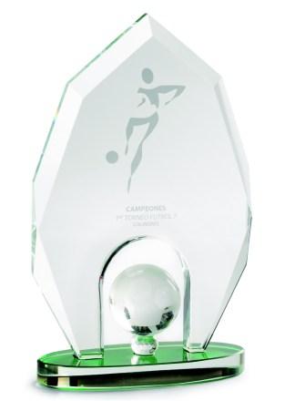 2332-Cristal-Economico-Trofeo-Placa-Reconocimiento-Homenaje