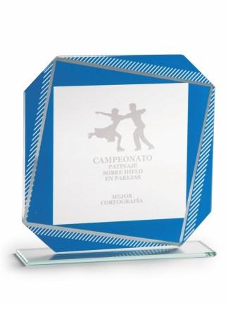 2368-Cristal-Economico-Trofeo-Placa-Reconocimiento-Homenaje