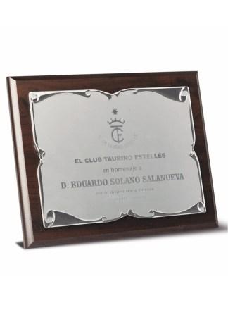2724-Placa-Economico-Trofeo-Reconocimiento-Homenaje-Barata