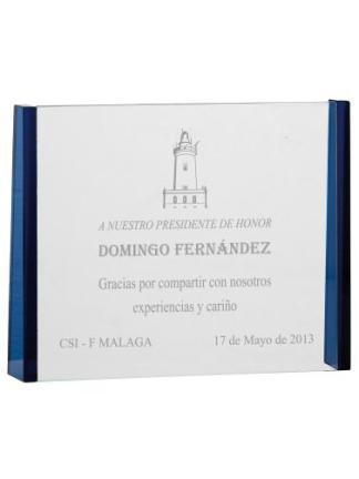 Trofeo-Boda-Personalizados-cristal-Placa-de-Conmemorativa-Eventos-Bodas-4033