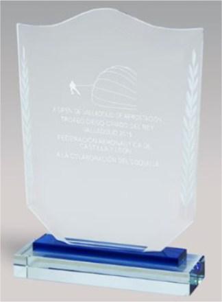 7326-Cristal-Economico-Trofeo-Placa-Reconocimiento-Homenaje