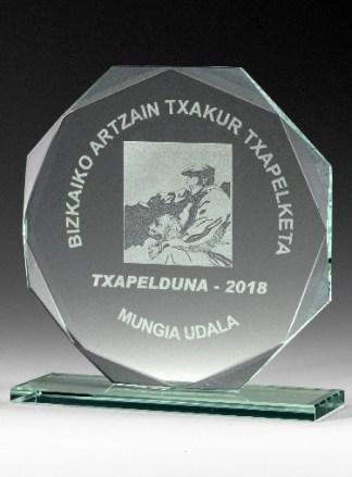 9333-Cristal-Economico-Trofeo-Placa-Reconocimiento-Homenaje