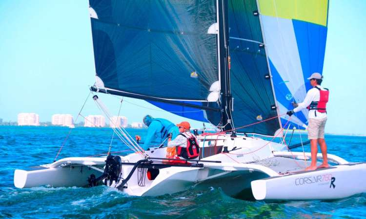 Multihulls magazine Corsair 760R best trailerable fast trimaran