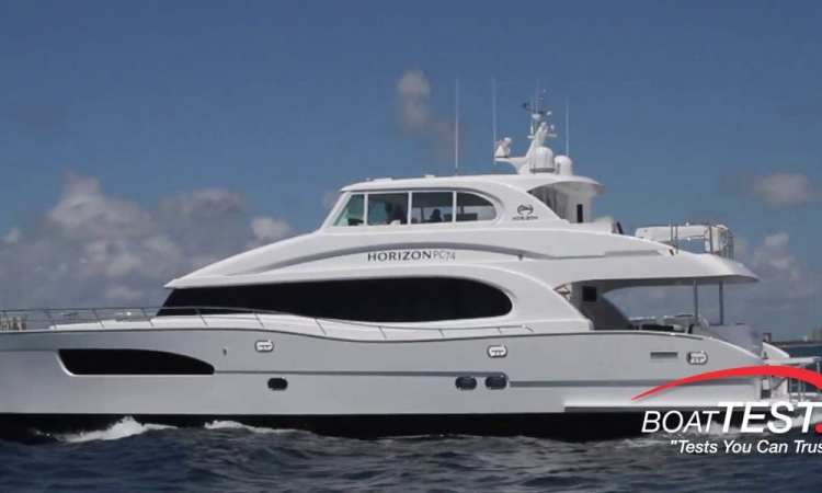 Power Horizons Catamaran P74 Multihulls Magazine