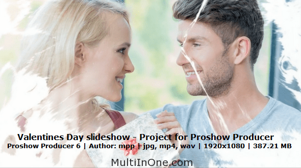 Valentines Day slideshow - Project for Proshow Producer(MultiInOne)