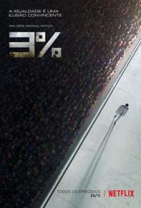 Plakat serialu Netflixa pt. 3%