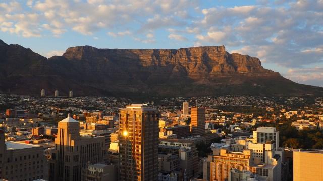 W 12 historii dookoła świata zdjęcie Cape Town w Republice Południowej Afryki