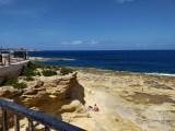 Plaża w Sliemie (Malta)
