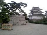 Pozostałości zamku Takamatsu w Japonii