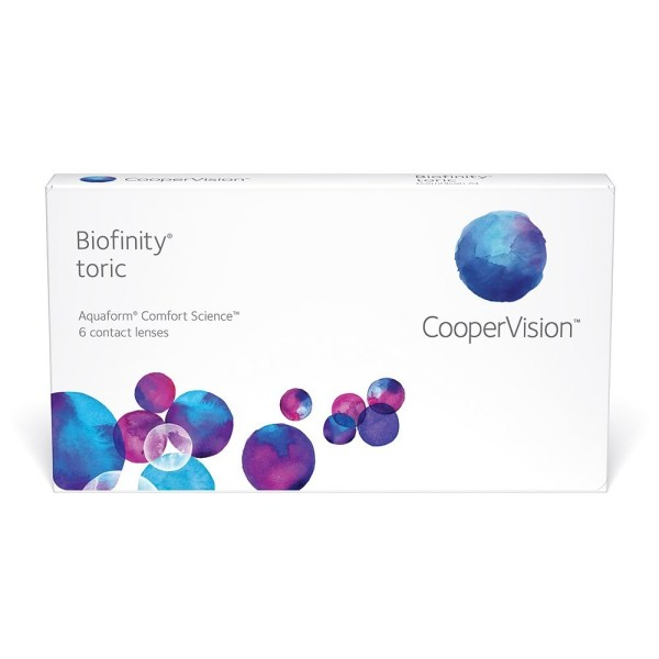 Biofinity Toric, lentes de contato