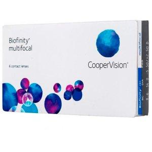 biofinity multifocal, lente de contato