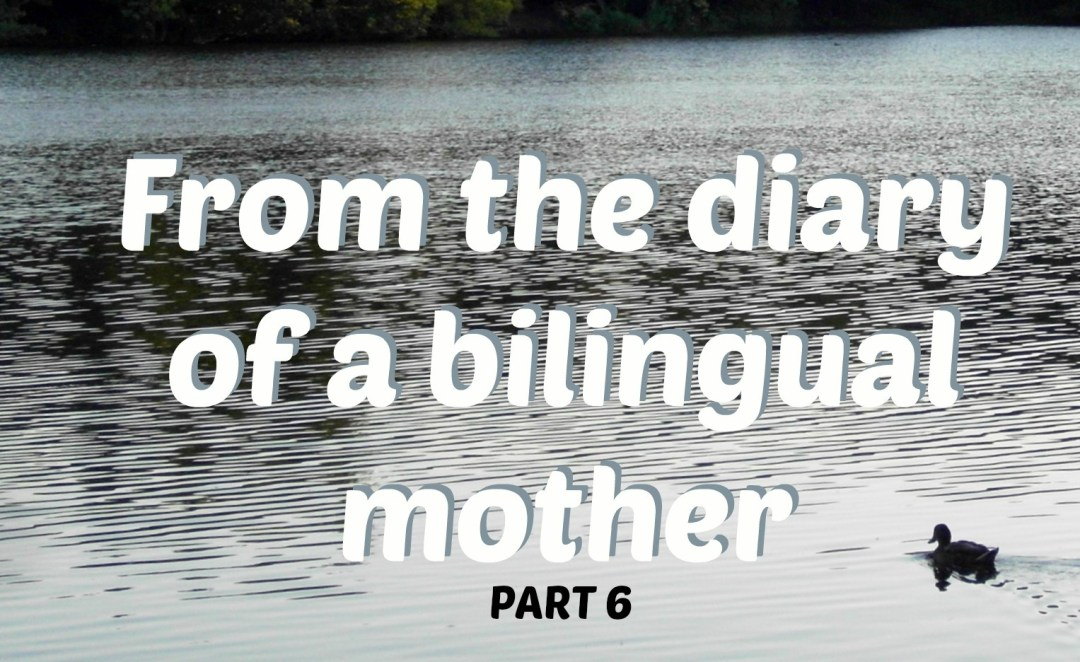 From the diary of a bilingual mother, part 6