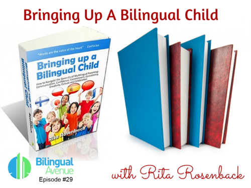 "Interview with Marianna from Bilingual Avenue about my book ""Bringing up a Bilingual Child"""