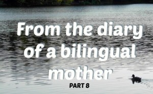 From the diary of a bilingual mother, part 8