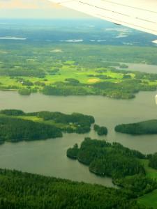 Landing in Finland