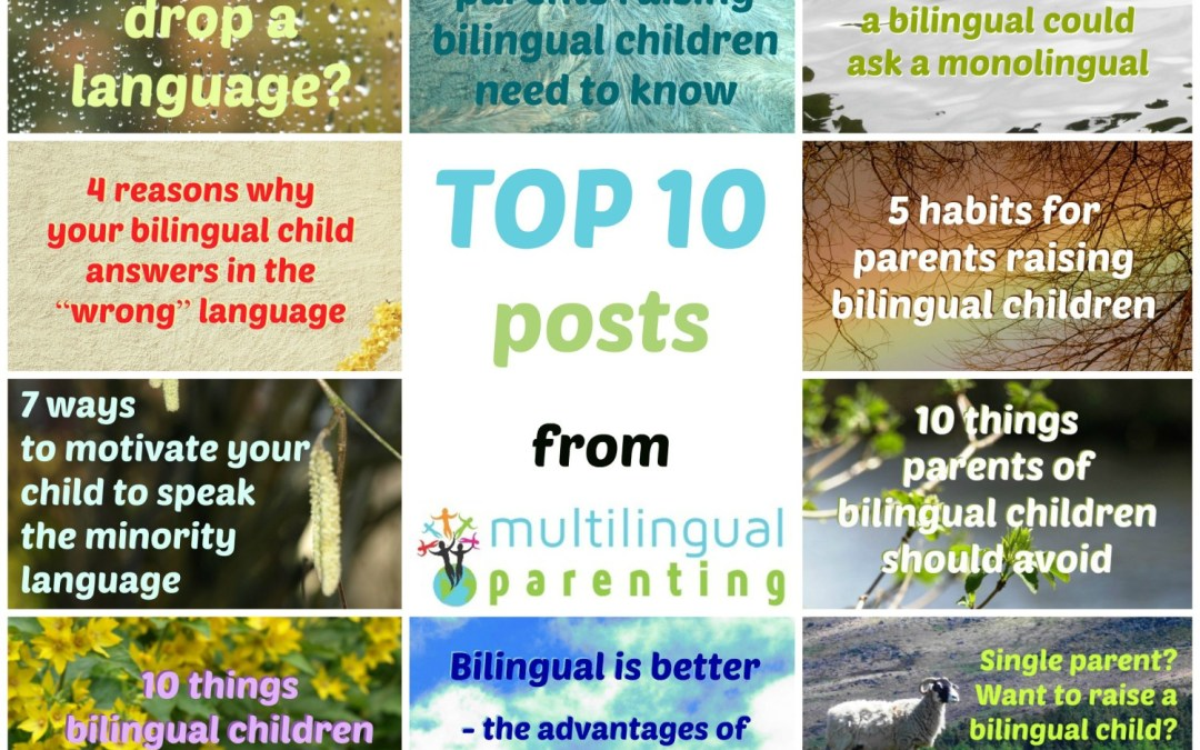 TOP 10 posts from Multilingual Parenting