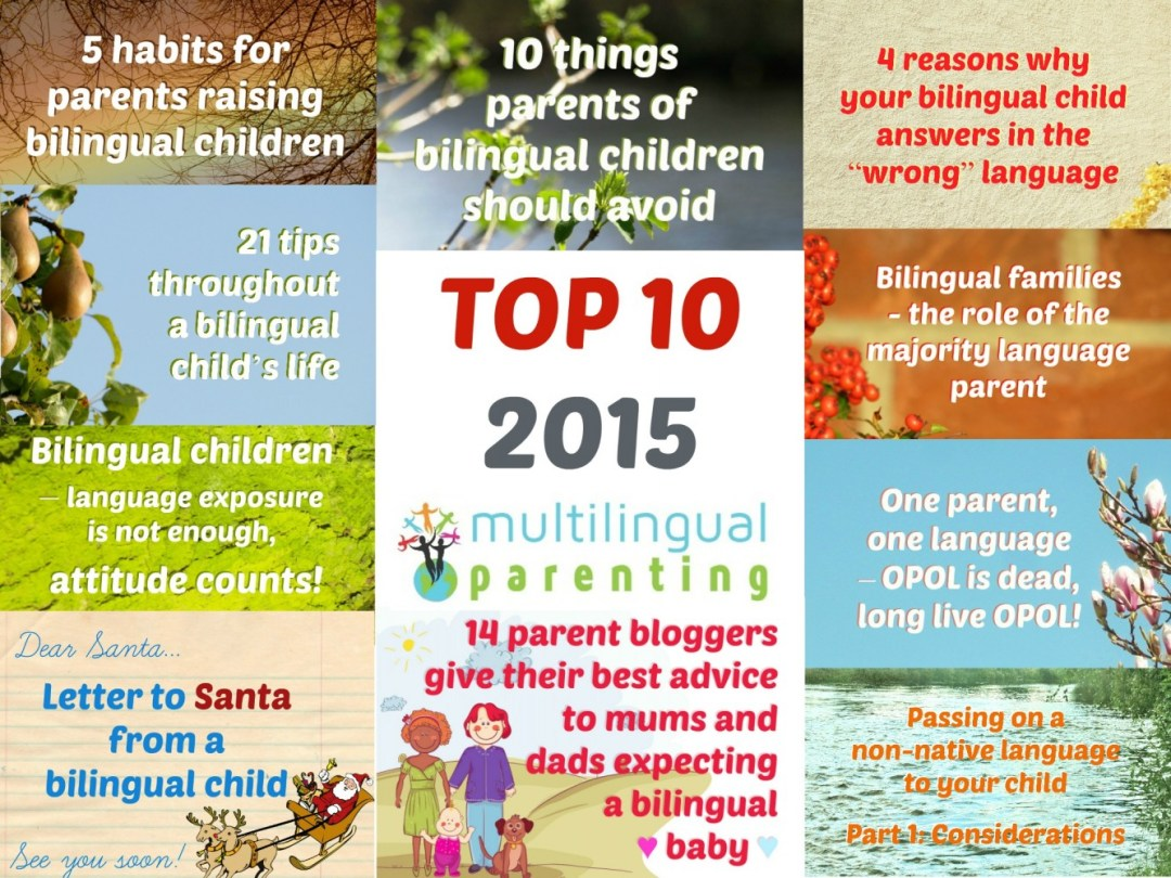 Multilingual Parenting: Top 10 of 2015