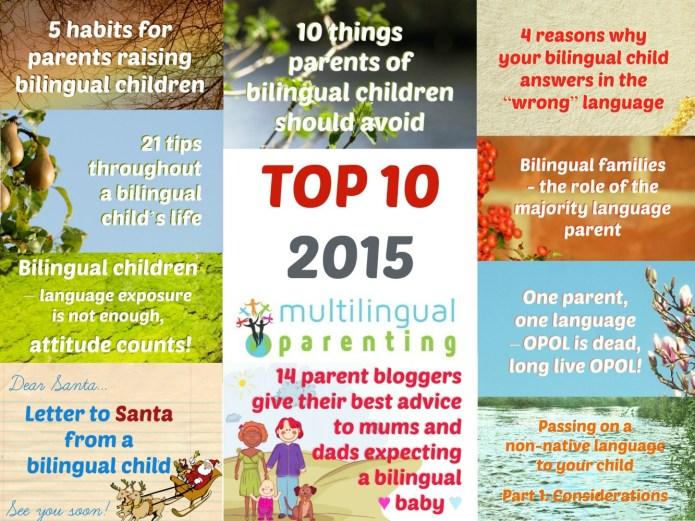 Multilingual Parenting: Top 10 of 2015